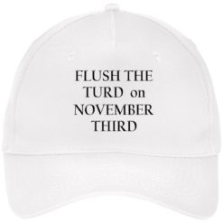 Flush the turn on november third hat