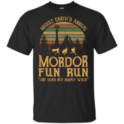 Middle earth's annual mordor fun run one does not simply walk