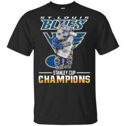 St. Louis Blues Baby Groot hug Stanley Cup shirt