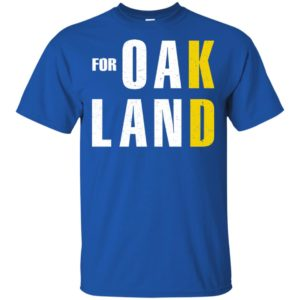 Kevin Durant For Oakland shirt