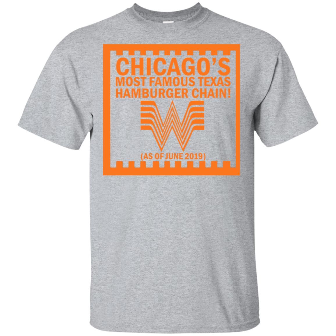 Chicago Whataburger Tshirt