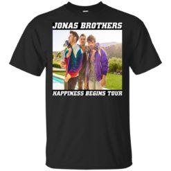 Jonas Brothers Happiness begins tour shirt