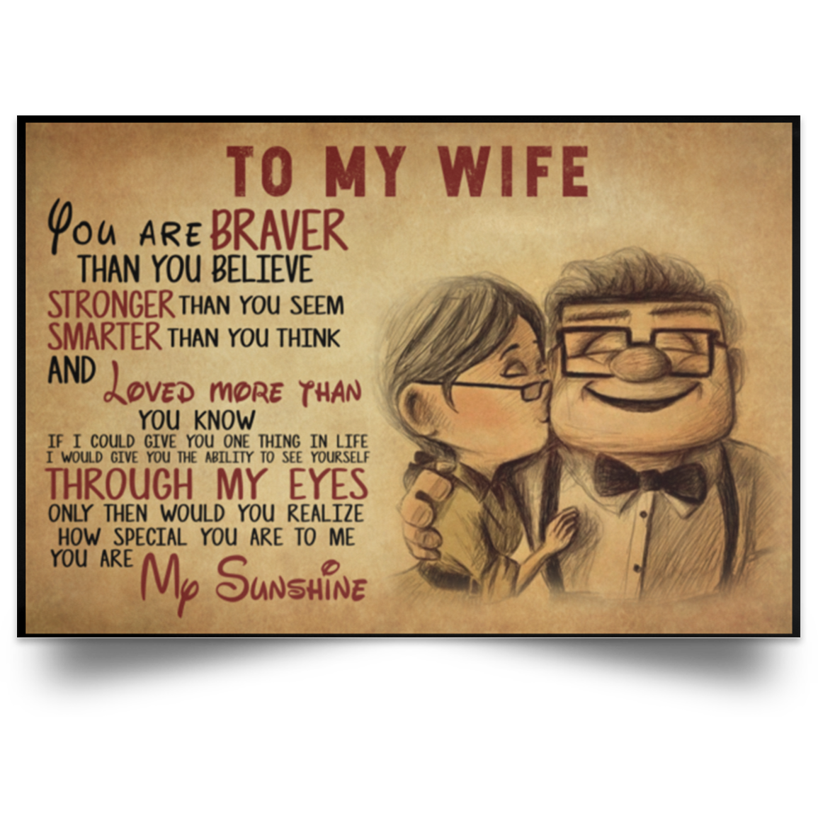 My wife is stronger than me  Dear Cancer, My Wife Is