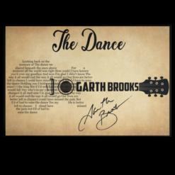 The dance garth brooks poster