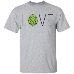 Love Craft Beer hops shirt