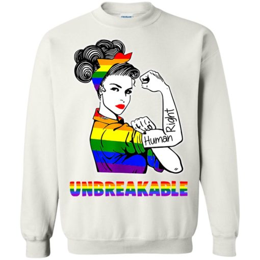 Unbreakable Lady Human Right LGBT