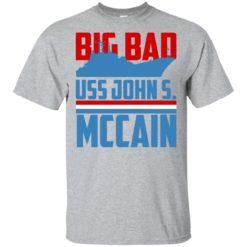 USS John S Mccain big bad John shirt