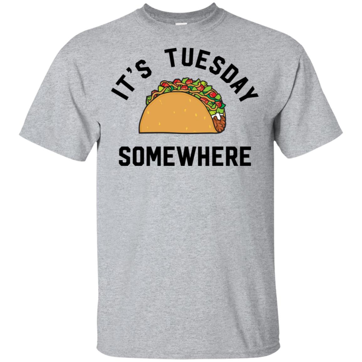 new product 67611 8248a LeBron James It's Tuesday somewhere taco shirt