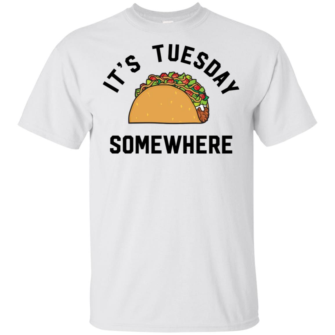 new product 5cb3e 480ad LeBron James It's Tuesday somewhere taco shirt