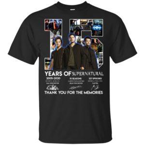 15 years of Supernatural shirt