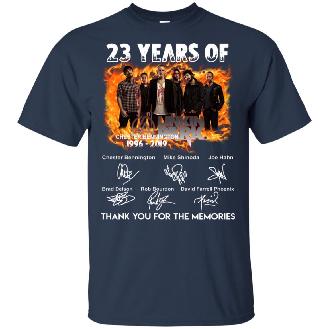 23 Years of Linkin Park shirt