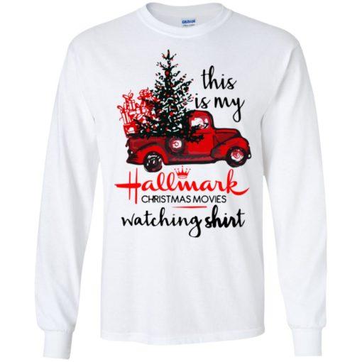 This is my Hallmark Christmas movies watching shirt