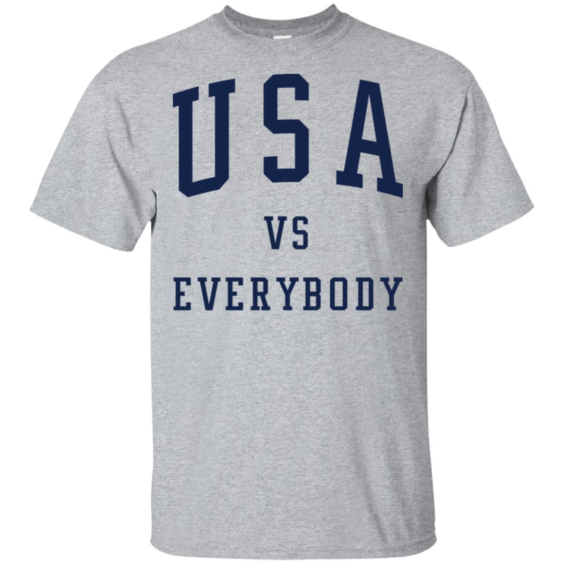 Usa Vs Everybody Shirt