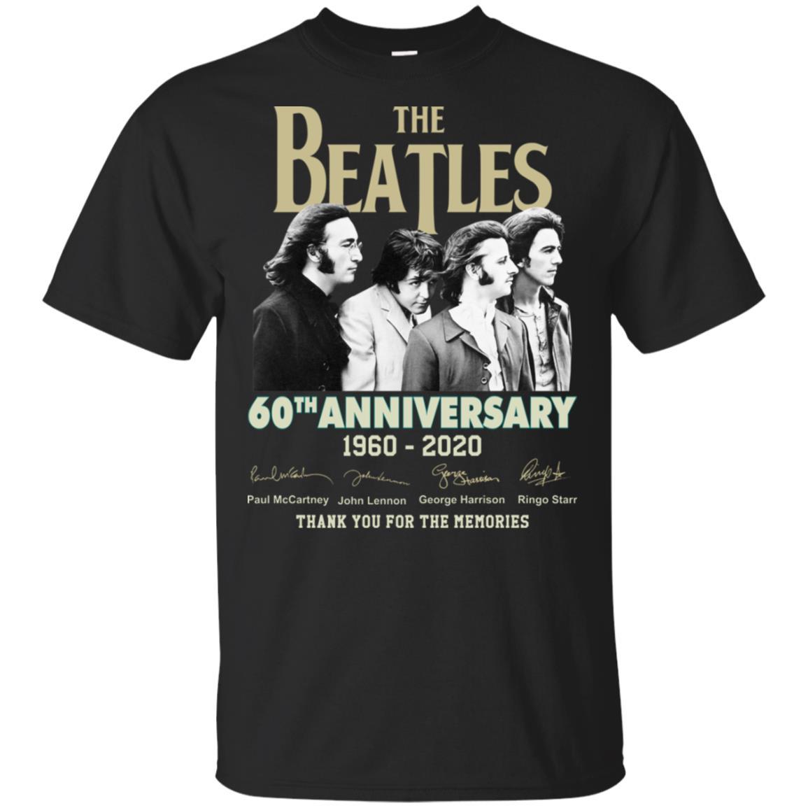 The Beatles 60th Anniversary Shirt