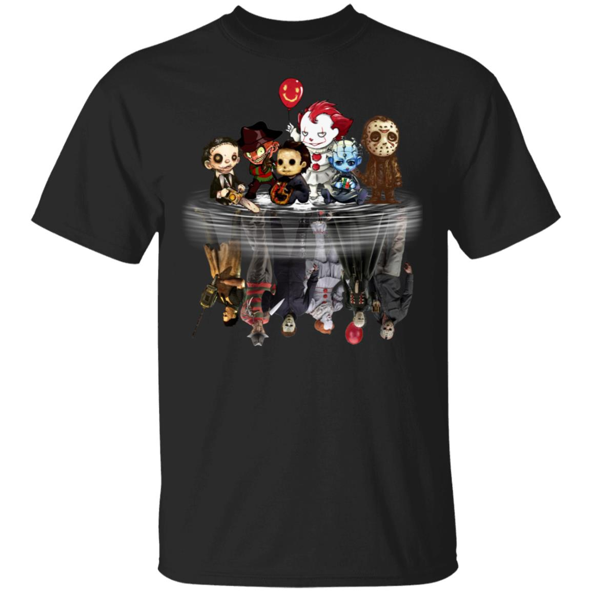 Horror Characters Reflect Shirt