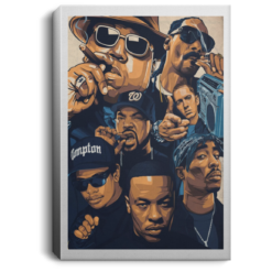 Notorious Big Snoop Dogg Ice Cube Eminem Tupac poster, canvas