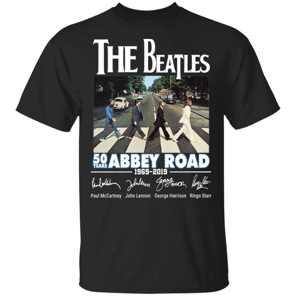 The Beatles 50 Years Abbey Road Shirt