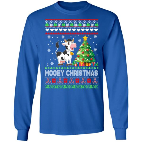Boston Terrier Christmas Sweater.Cow Mooey Christmas Sweater
