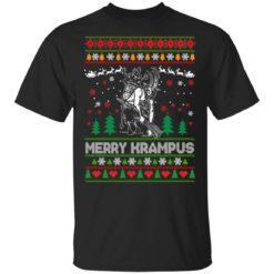 Merry Krampus Christmas sweatshirt