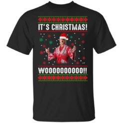 Ric Flair It's Christmas Woooooo sweatshirt