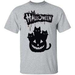 Halloween Pumpkin Cats shirt