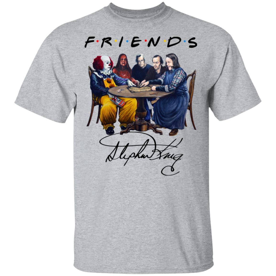 Stephen King Horror Friends White Shirt