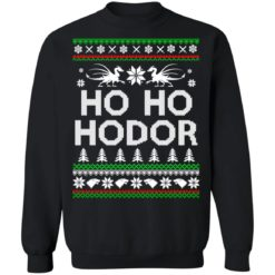 Game of throne HO HO Hodor Christmas sweater