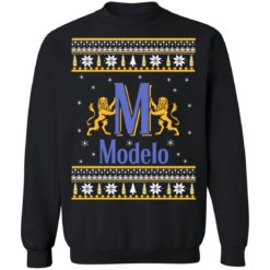 Modelo beer Christmas sweater