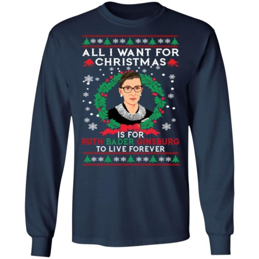 All I want for Christmas is for Ruth Bader Ginsburg ugly sweater
