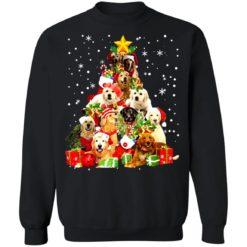 Golden Retriever Christmas Tree sweatshirt