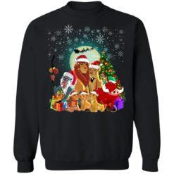 The Lion King Christmas sweatshirt