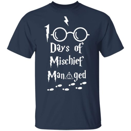Harry Potter 100 days of mischief managed shirt