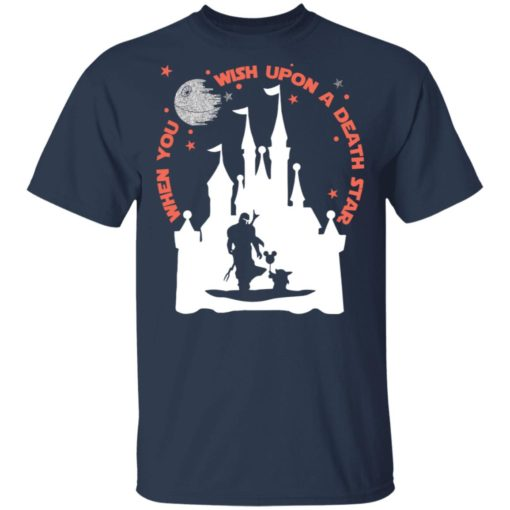 When you wish upon a Death Star Mandalorian shirt