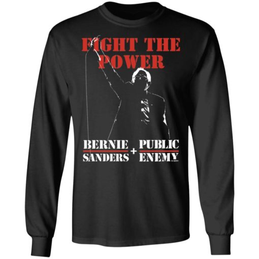 Fight the power Bernie Sanders and public enemy shirt