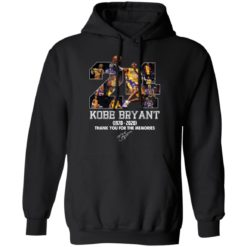 Kobe Bryant 1978-2020 thank you for the memories shirt