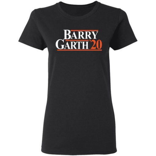 Barry Garth 2020 shirt