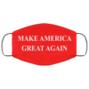 Make America great again face mask Washable, Reusable