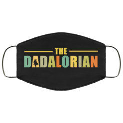 The Dadalorian face mask washable, Reusable