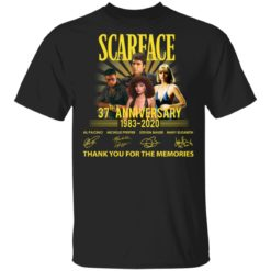 Scarface 37th Anniversary shirt