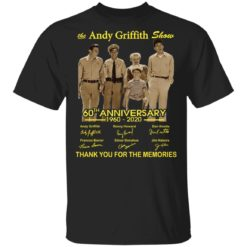 The Andy Griffith show 60th Anniversary shirt