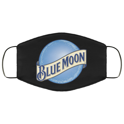 Blue Moon beer face mask