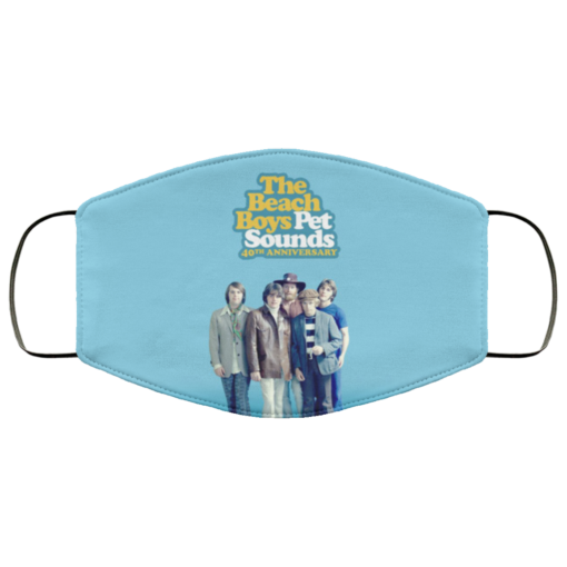 The Beach Boys face mask