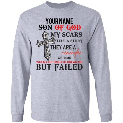 Personalized name Son of God shirt