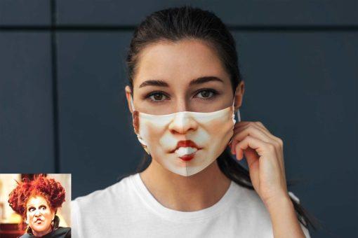 Winifred Hocus Pocus face mask