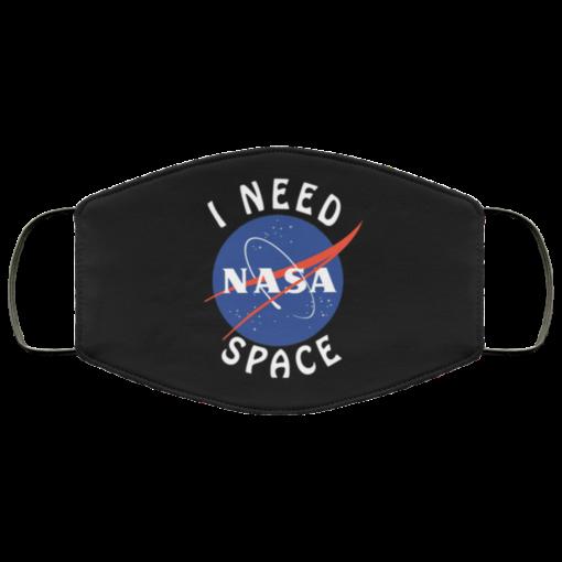 NASA I Need Space face mask