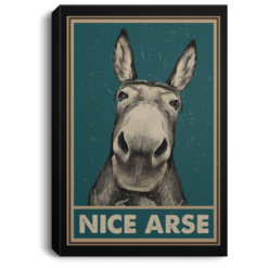 Nice Arse poster, canvas