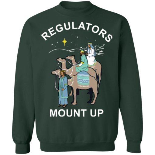 Three King Regulators Mount Up Christmas sweatshirt